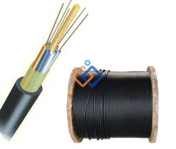 Cáp quang luồn ống kim loại 96FO Chính hãng