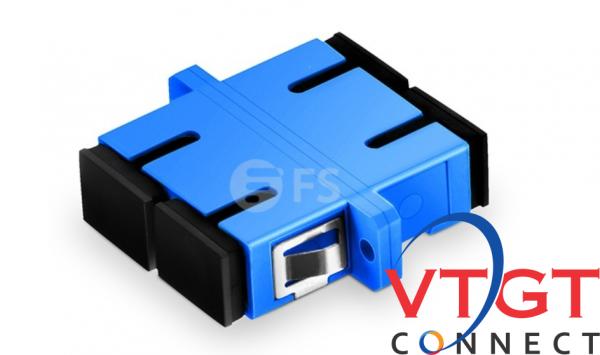Đầu nối quang adapter duplex SC-SC