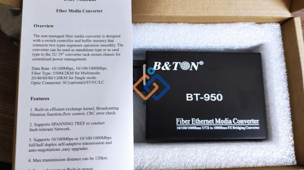 Converter quang Multimode Bton BT-950GM-2