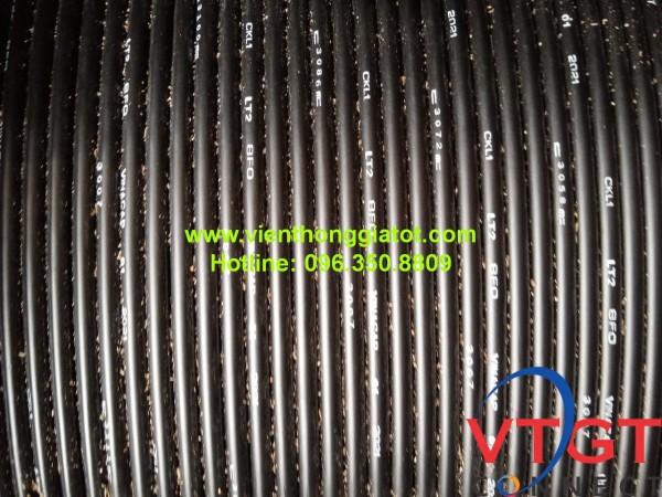 Cáp quang ngầm 8FO (8 sợi) bọc kim loại Vinacap