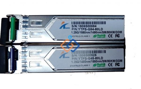 Module quang SFP 1 sợi 1G 80Km YTPS-G45-80LD
