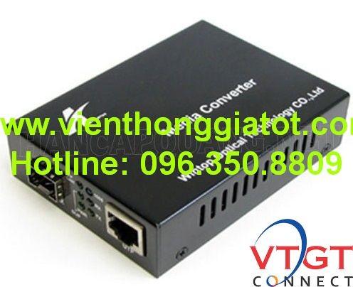 Bộ chuyển đổi quang điện + SFP YT- 8110G- SFP- AS