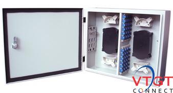 Hộp phối quang ODF 32FO (32 core) ngoài trời đầy đủ phụ kiện
