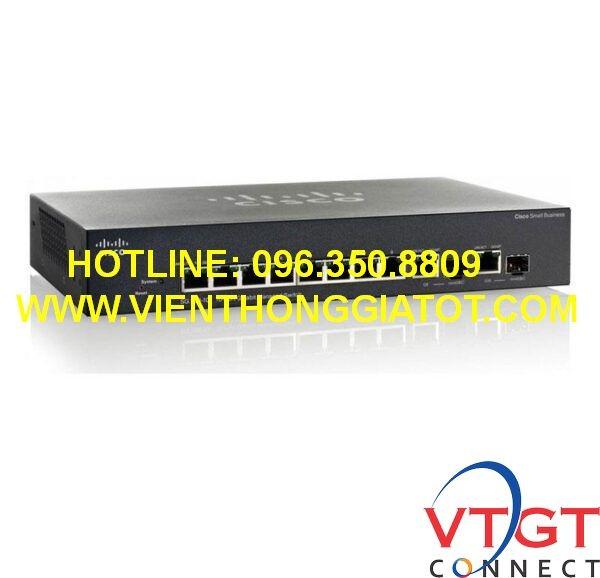Switch Cisco SF352-08-K9-EU 8-port 10/100 Managed Switch+2 Gigabit