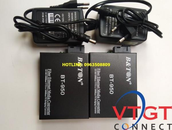 Bộ chuyển đổi quang điện converter quang multimode BTON BT- 950 GM-2