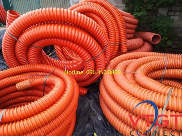 Ống nhựa gân xoắn HDPE 30/40