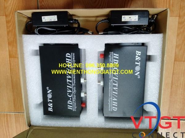 Bộ chuyển đổi video quang 2 kênh 1080P