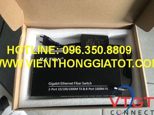 Switch quang 8 cổng module quang SFP 1G BT-982SFP-GE