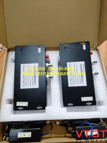 Bộ chuyển đổi video quang 2 kênh BTON BT- HD2VF-T