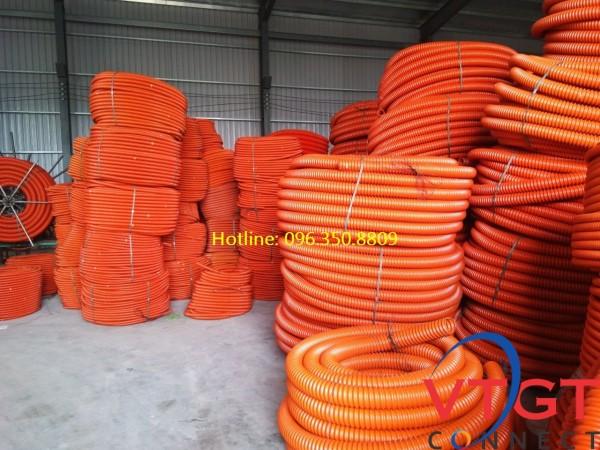 Ống nhựa gân xoắn HDPE D40/30