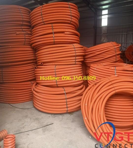 Ống nhựa gân xoắn HDPE D50/40