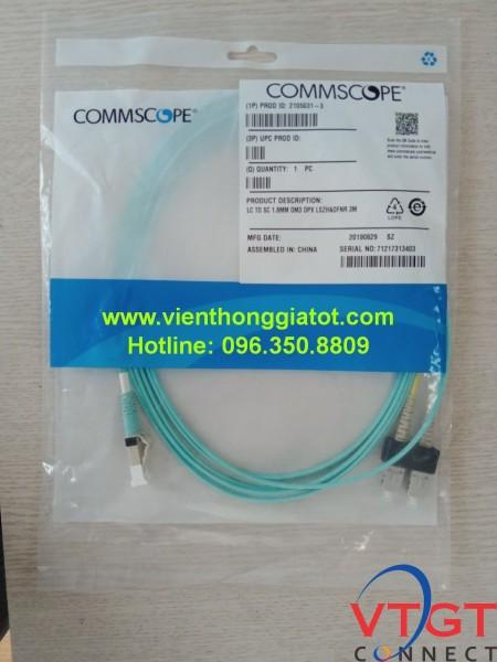 Dây nhảy quang Multimode OM3 chuẩn SC-LC Commscope