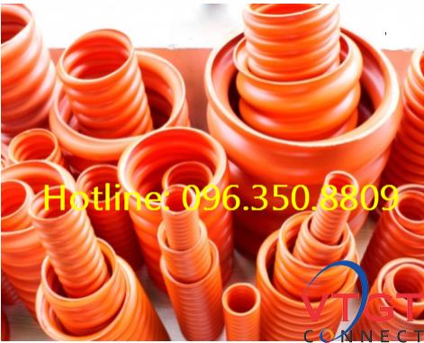 Ống nhựa gân xoắn HDPE D50/65