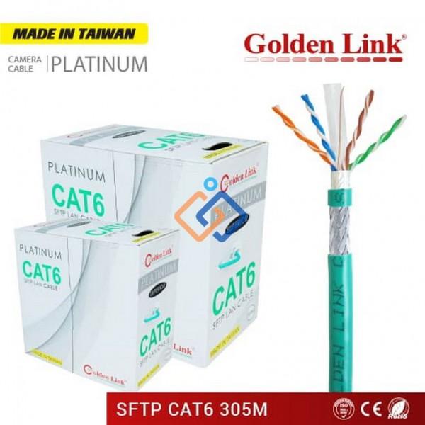 Cáp mạng CAT6 SFTP Golden Link chống nhiễu