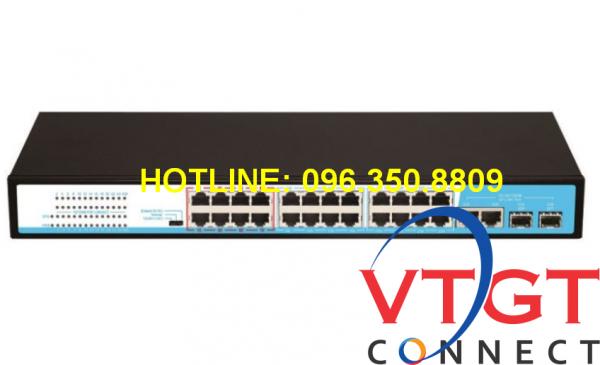 Switch POE 24 cổng HRUI HR901-AF-2422GS