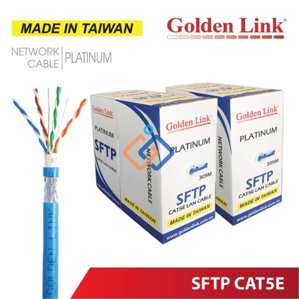 Cáp mạng CAT5e chống nhiễu SFTP GoldenLink Giá tốt