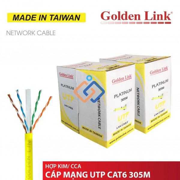 Cáp mạng Cat6 UTP Golden link Chính hãng