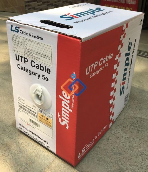 Cáp mạng LS CAT5e 24 AWG U/UTP