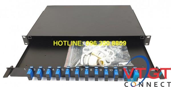 Hộp phối quang ODF Comscope AMP 12FO 2-1206138-4