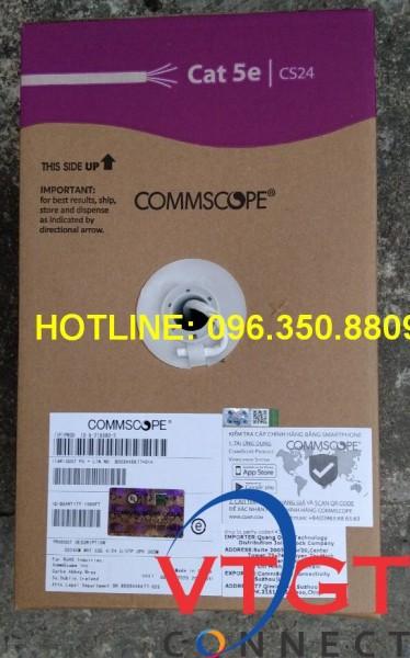 Cáp mạng cat5e AMP Comscope chính hãng