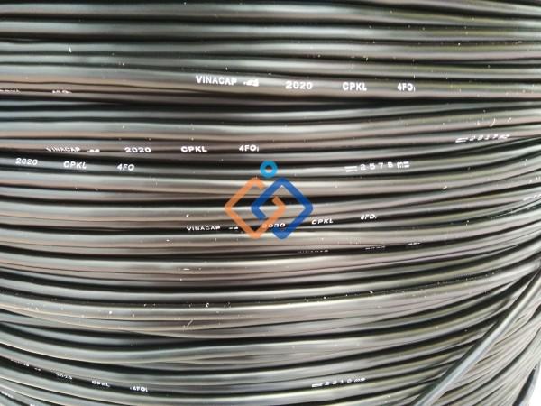 Cáp quang 4FO VINACAP Phi kim loại