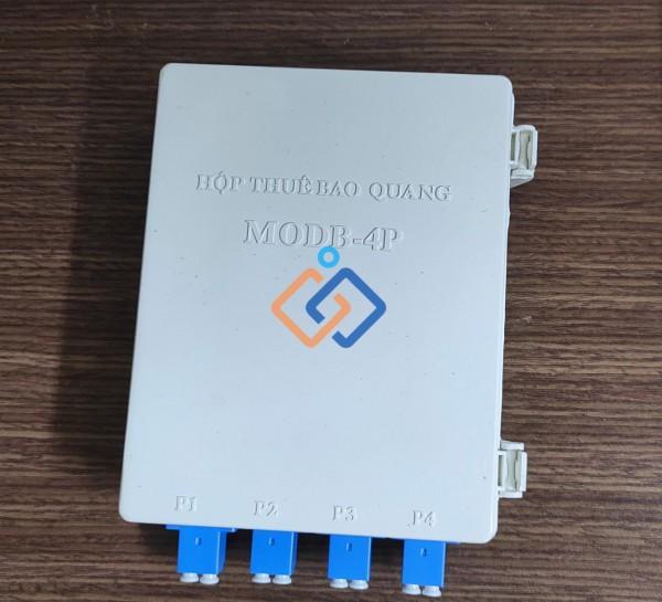 Hộp phối quang ODF 4FO nhựa chuẩn LC