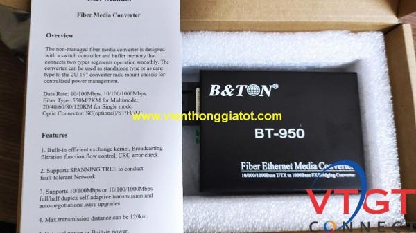 Converter quang Multimode Bton BT-950GM