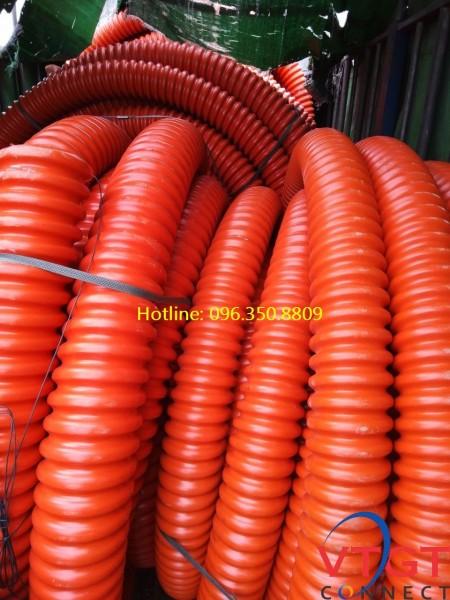 Ống nhựa gân xoắn HDPE D112/90