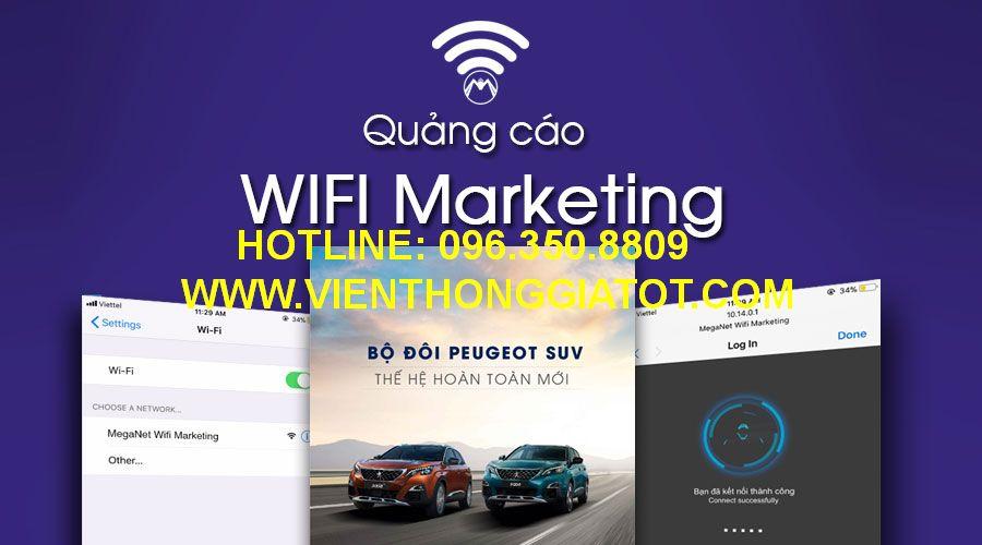 Lắp đặt mạng wifi quảng cáo cho nhà hàng, quán Cafe